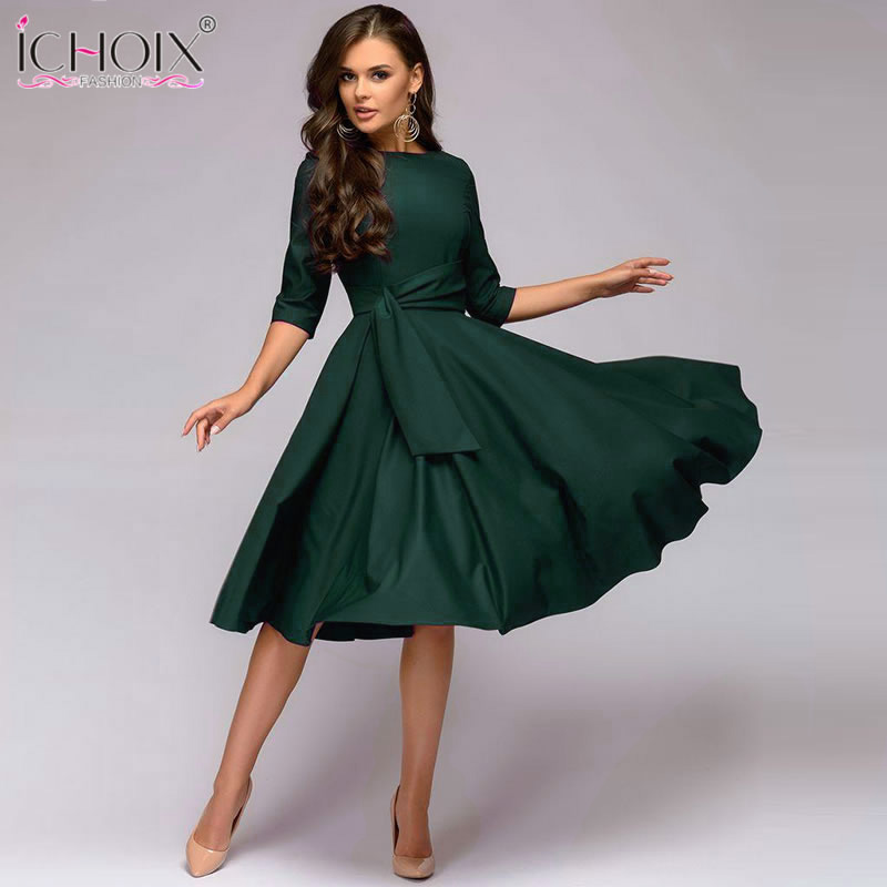 aliexpress  buy autumn casual women dress 2018 a line