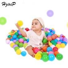 купить HziriP 100Pcs High Quality Colorful Ocean Balls Soft Plastic Water Pool Kid Baby Ball Outdoor Fun Sports Toy Balls For Children дешево