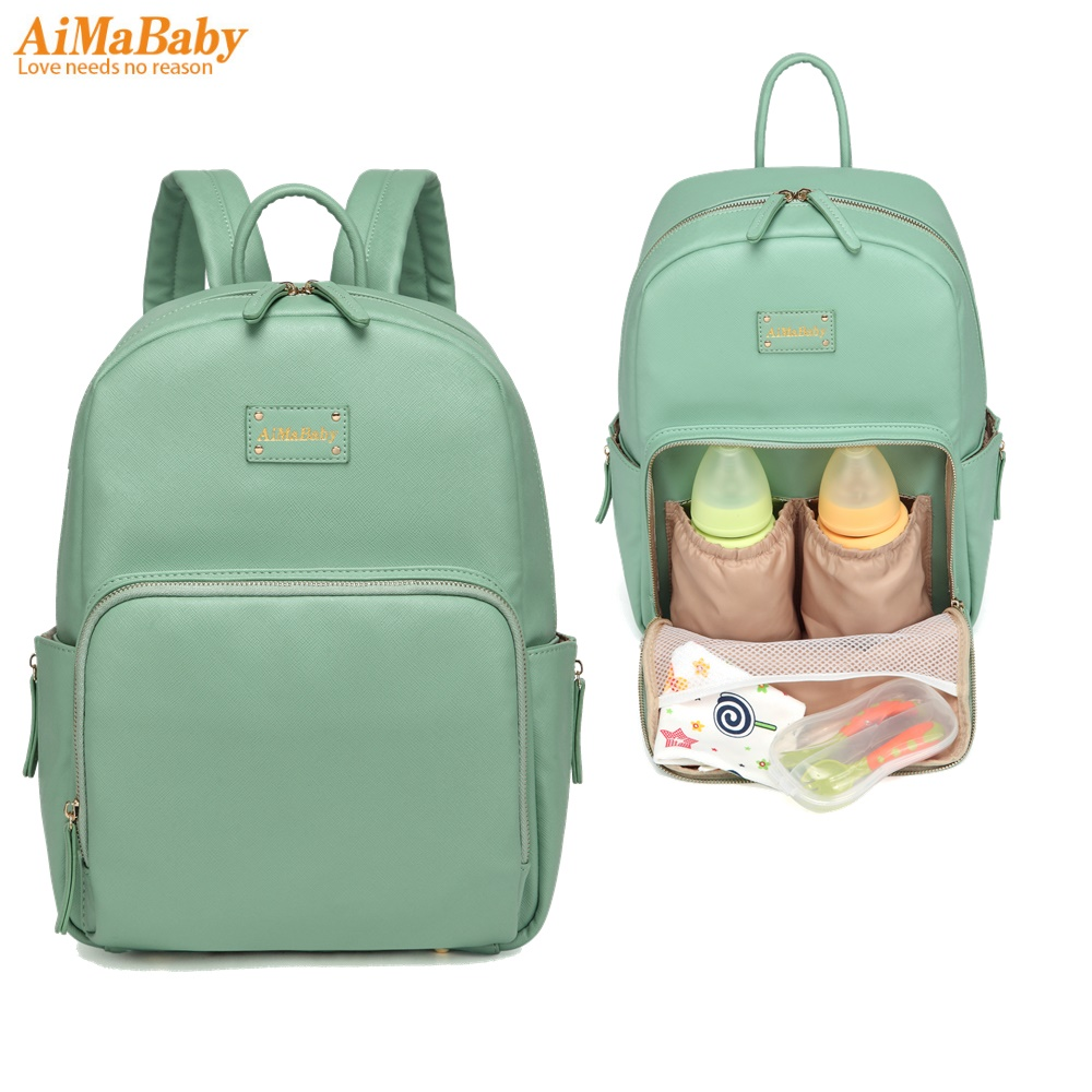designer baby mother backpack travel mummy maternity changing nappy diaper tote bag for mom organizer Bags bolsa maternidad aimababy 2017 new pu designer baby diaper nappy changing mummy maternity bag organizer bags for mom backpack bolsa maternidade