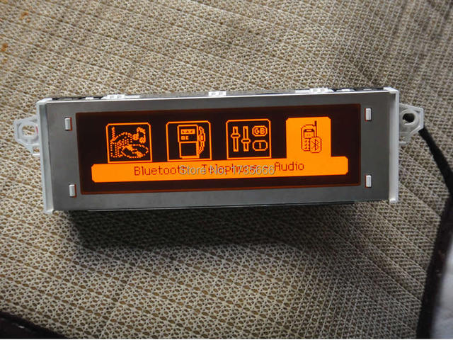 Support décran rouge | Moniteur daffichage USB et Bluetooth, 12pin, pour Peugeot 307 207 citroën 408 C4 Sega triumph C5 RD45, pièces