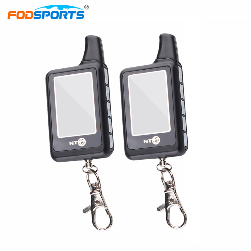 Fodsports Motorcycle Alarm Reminder System Two Way LCD Anti-theft Security Theft Protection Monitoring Range 3500M Waterproof ...