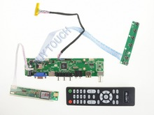 New Universal V59 HDMI USB AV VGA ATV PC LCD Controller Board for 14.1inch 1280×800 B141EW01 CCFL Motherboard with 5-KEY Keypad