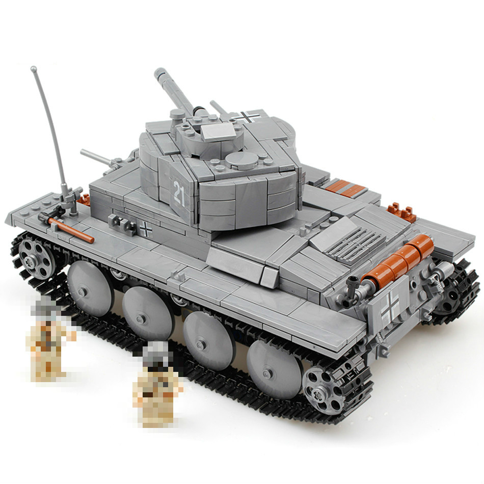Hot 3D Model Military War Tank PZKPFW-II Building Blocks Sets Compatible Lepins Tank DIY Educational Christmas Toy for Children uncanny avengers unity volume 3 civil war ii