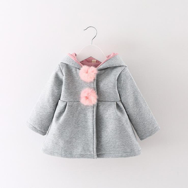 Hooded Jacket for Baby Girls