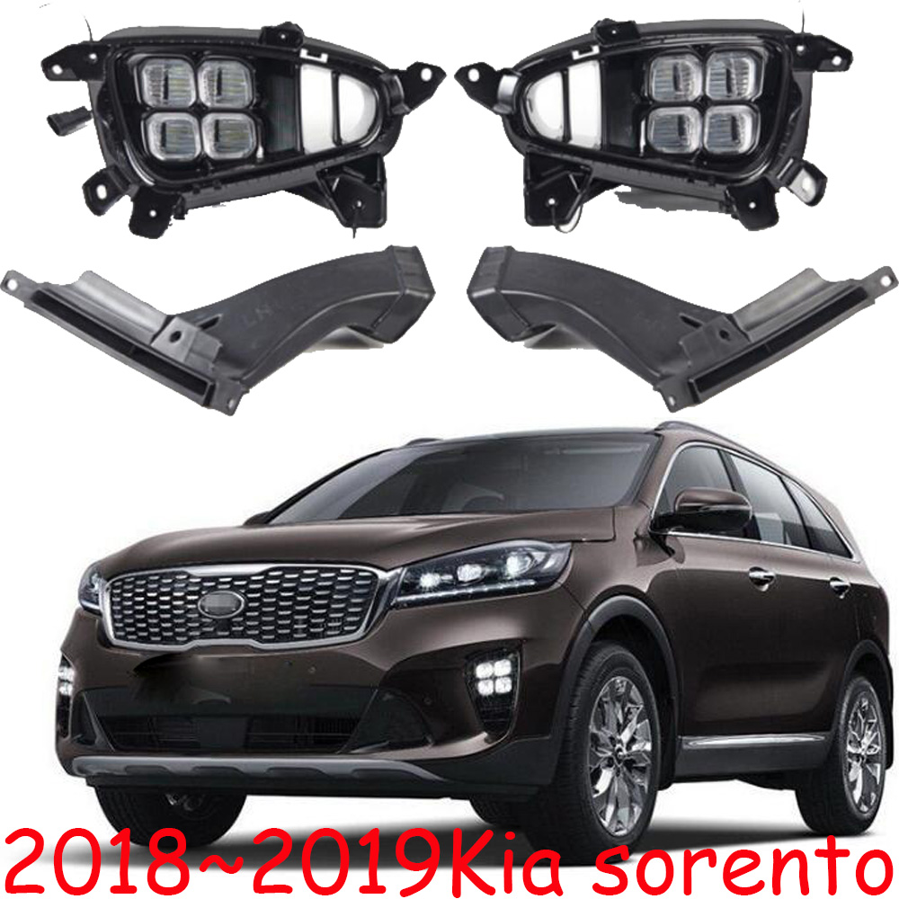 2018 2019 sorento daytime light,LED,4pcs eyes,car accessories,sorento bumper light;soul,k5,ceed,kx5,Sportage R,K3,cerato,KX