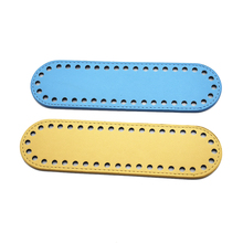 22x6cm Bottoms Leather for Bag Handmade Diy Accessories Women handBag Long Bottom with Holes and High Quality 8.67x2.36