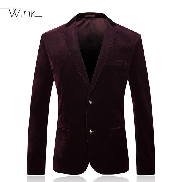 Los hombres de Pana de Alta Calidad Diseñadores de La Marca de Moda Slim Fit Negocios Vestido Chaqueta Informal Chaquetas de Traje Para Hombre de Lujo Vestidos E210