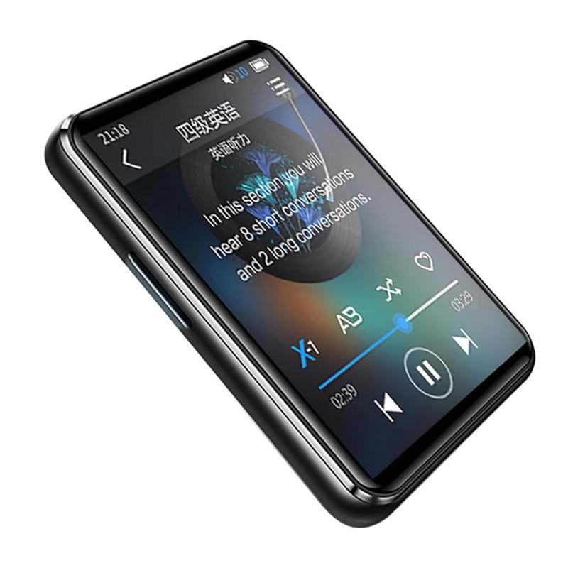 X6 lecteur MP3 à écran tactile complet lecteur de musique avec lecteur vidéo Radio FM