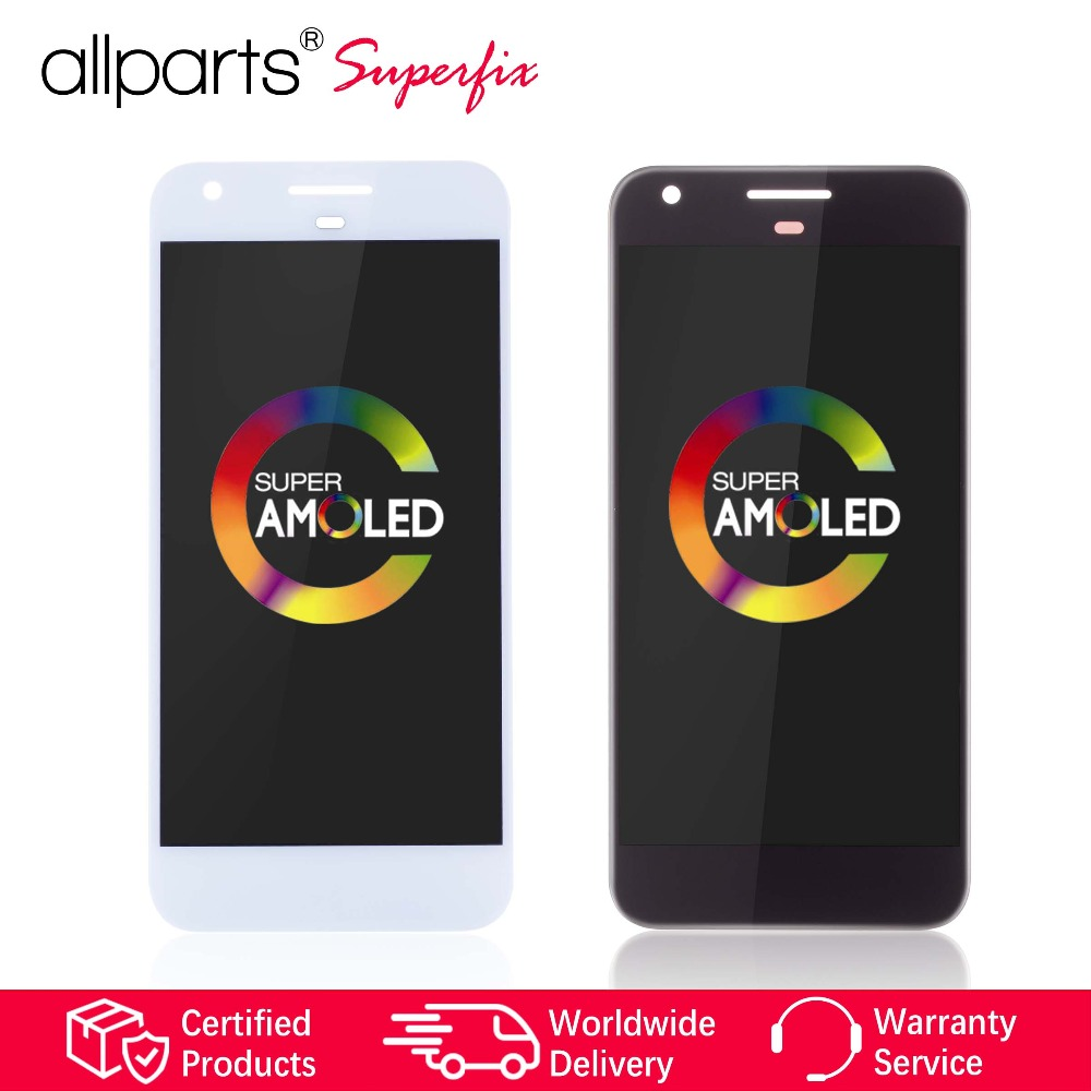 AMOLED Original Display For Google Pixel LCD Touch Screen Digitizer Replacement for Google Pixel 1 Display HTC Nexus S1 LCD @