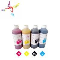 HQHQ 500 ML/şişe 4 şişe Pigment mürekkep için EPSON Stylus T10 T20 T13 30 T40W TX600FW TX550W B40W 500 600 S22 TX125 SX125 320