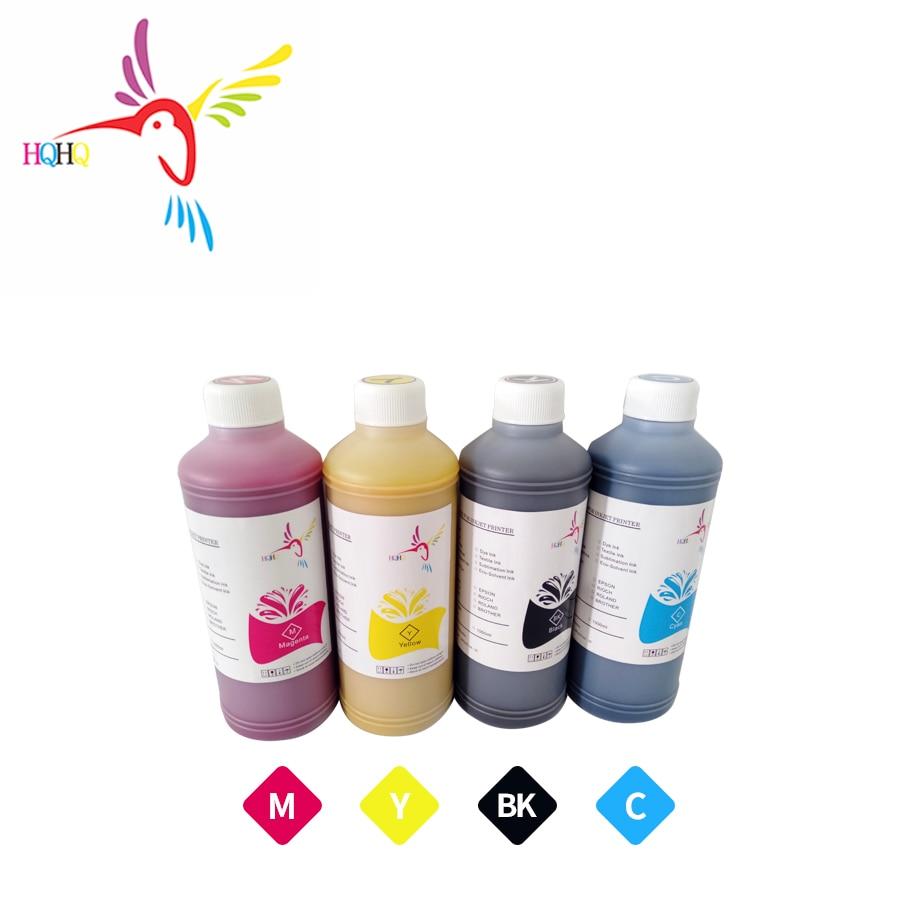 HQHQ 500ML/bottle  4bottles Pigment Ink For EPSON Stylus T10 T20 T13 30 T40W TX600FW TX550W  B40W 500 600 S22 TX125 SX125 320 Ink Refill Kits    - title=