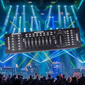 1x4x10 pces/lote 192 dmx 192 mini pedra 192 controle dmx para console de palco movendo a luz da cabeça