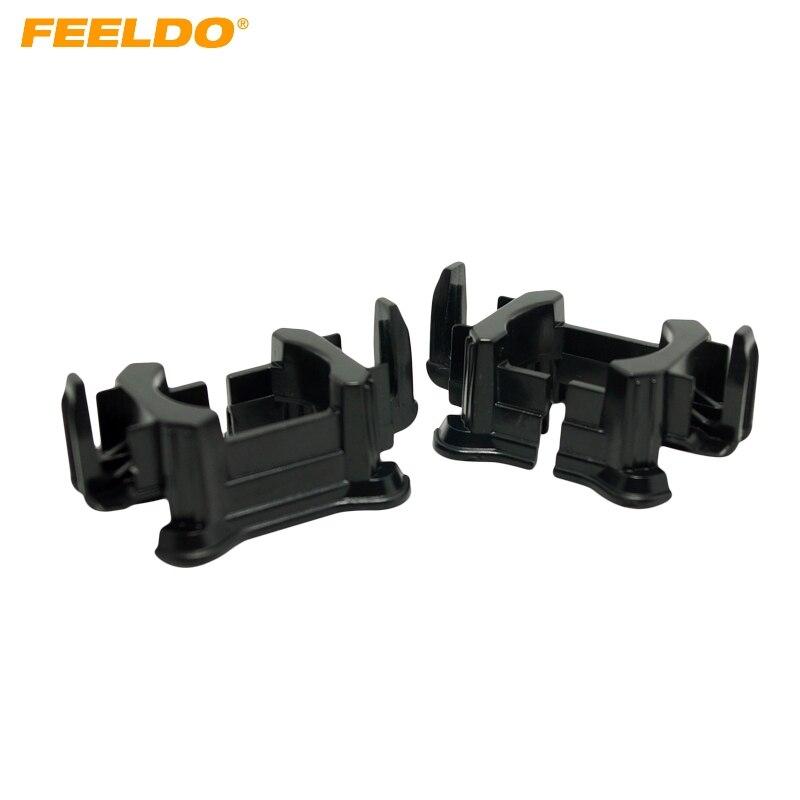 10Pcs Car H7 HID Xenon Beam Installation Bulbs Socket Adapter Holder For Citroen/Peugeot 508/Ford Mondeo HID Bulb Adapter #1331