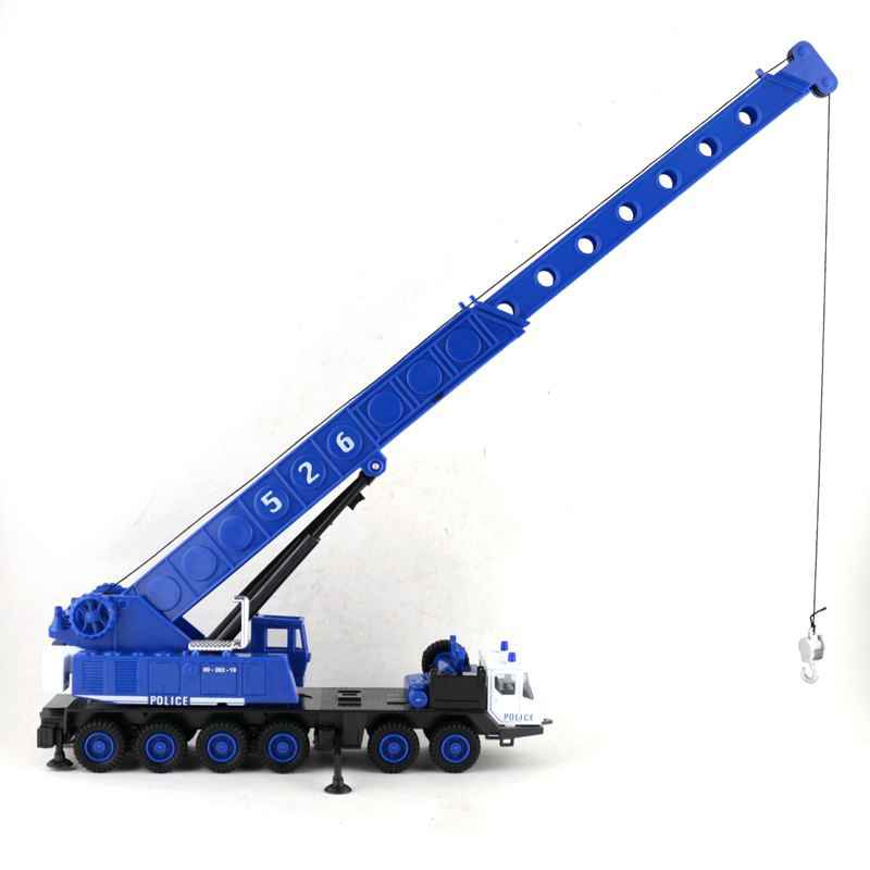 high simulation alloy engineering vehicle model,1:60 alloy Heavy crane,fire crane model,strong truck,free shipping