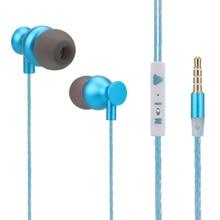 3.5mm Jack Wired Earphones Music Headphones fone de ouvido Sport Not Bluetooth Headset For Samsung Xiaomi iPhone PC Mini Earbuds