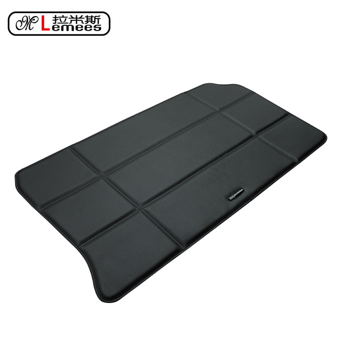 special car trunk mat for Smart rear automitive rugs waterproof non slip easy clean no odor green carpets
