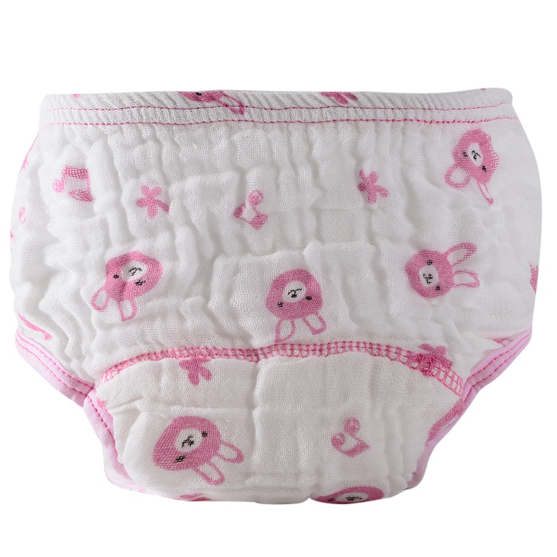 Cute Baby Diapers Reusable Nappies Cloth Diaper Washable Infants Children Baby Cotton Training Pants Nappy Changing 1Pcs