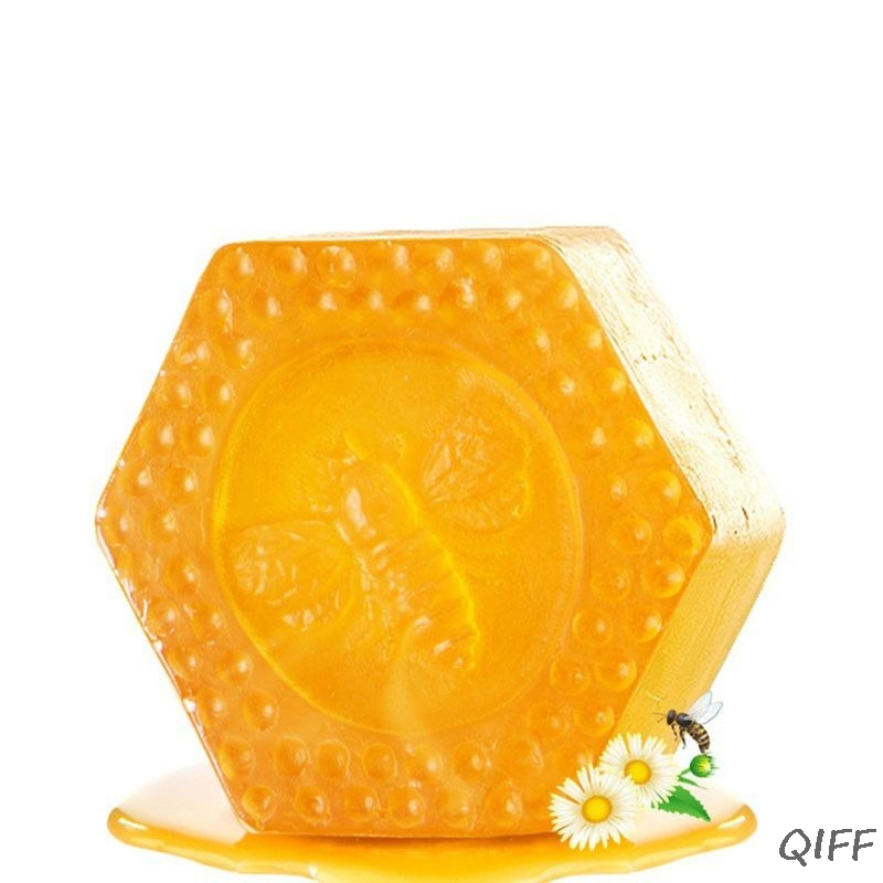 100g Honeycomb Shaped Propolis Essential Oil Handmade Soap Face Deep Cleaning Whitening Moisturizing Oil Control Skin Care