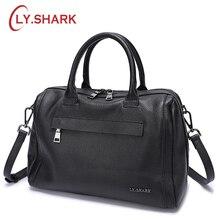 LY.SHARK Genuine Leather Women Bag Shoulder Bag Ladies Crossbody Bag Women Handbags Messenger Bag For Women 2018 Handbags Female