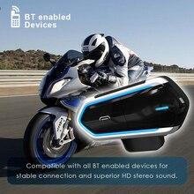 Kask motocyklowy domofony Qtb35 na kask silnika Bluetooth Intercom wodoodporna domofon silnika Interphone słuchawki radia FM