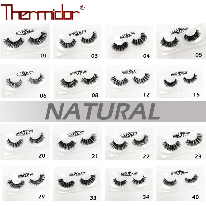 Thermidor Synthetic Eyelashes Long Natural Thick Dramatic Handmade Fake Eyelash 3d Lashes D39-43 Evident Effect False Eyelashes Beauty Essentials