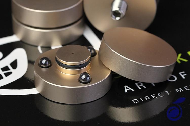 HIFI Audio haut-parleurs amplificateur perles en céramique/perles en acier Anti-choc amortisseur coussinet de pied pieds coussinets support d'absorption des vibrations