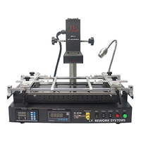 LY IR8500 V2 BGA Rework Station with PCB brackets solder balls stencils welding flux upgrade from IR6000 IR6500 mobile repair