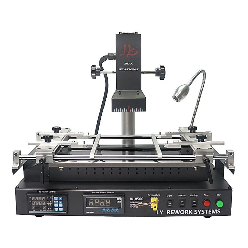 Sistema de reparação BGA LY IR8500 V.2 BGA Estação de Retrabalho com suportes PCB