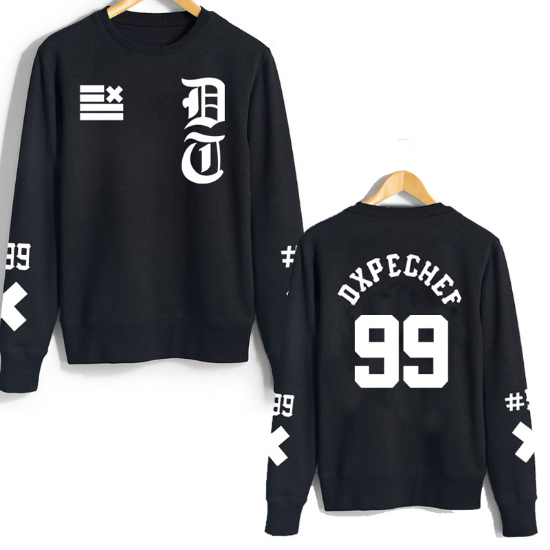 Women's Clothing K-pop Bigbang Album Returns To Mde With The Same Style Of Kanzhilong Round Collar Bodyguard Clothes Thin Autumn Clothes Hoodies Sale Price