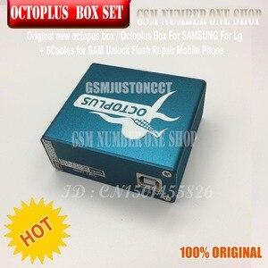 Image 4 - Originele nieuwe octoplus doos octopus box 6 in 1 set (DOOS + 5 PC KABEL) geactiveerd voor LG samsung Unlock Flash Reparatie Mobiele Telefoon