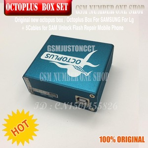 Image 4 - original new octoplus box octopus box 6 in 1 set  ( BOX+ 5PC CABLE ) Activated for LG samsung  Unlock Flash Repair Mobile Phone