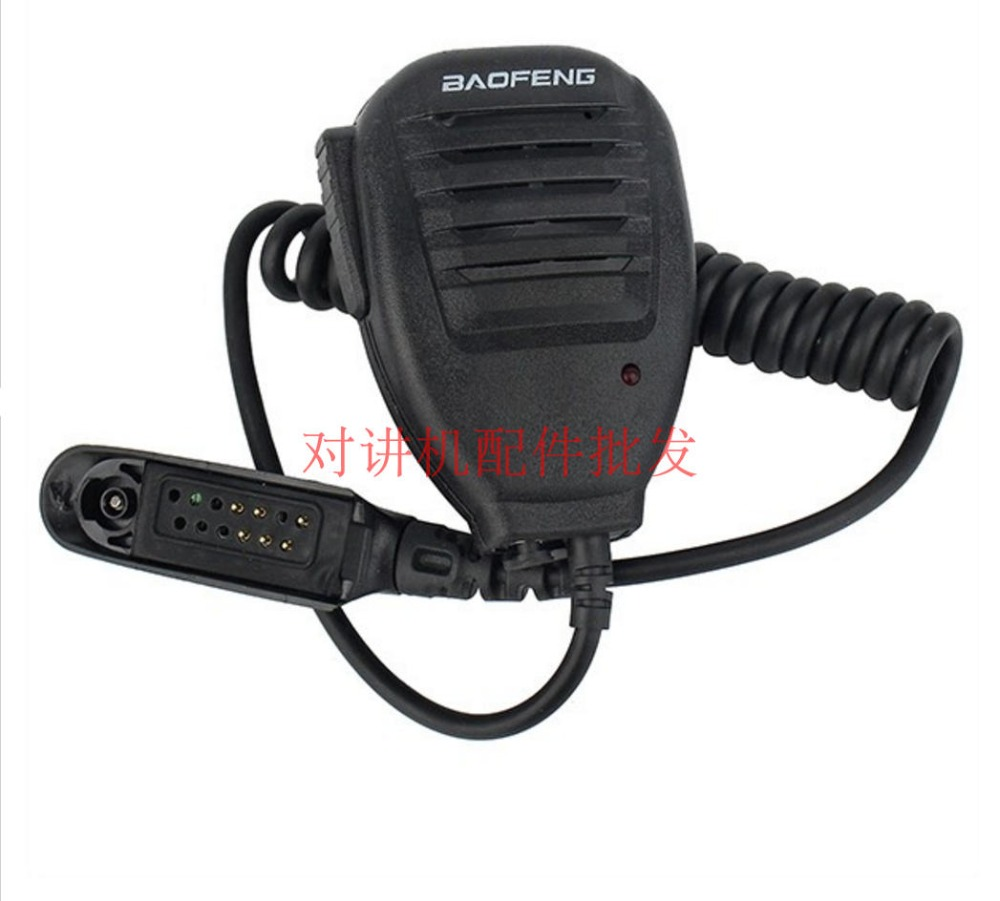 bilder für Baofeng mikrofon handheld lautsprecher mic für baofeng a58 bf-9700 uv-9r wasserdicht walkie-talkie