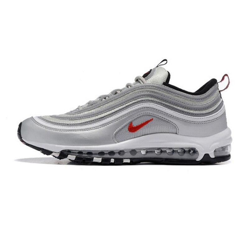 D'origine Nike Air Max 97 OG QS 1697 VERSION Pour Hommes de chaussures de course Respirant Extérieur chaussures de sport Nike Air Max 90 Hommes chaussures