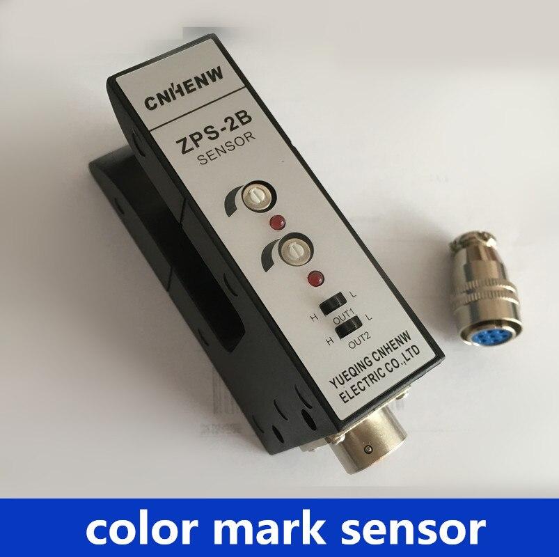 SENSOR U type ZPS-2B Photoelectric sensor switch color mark photocell sensor for plastic machines Printing machine spare parts current transformer cnc control spare parts fanuc sensor a44l 0001 0165 300a