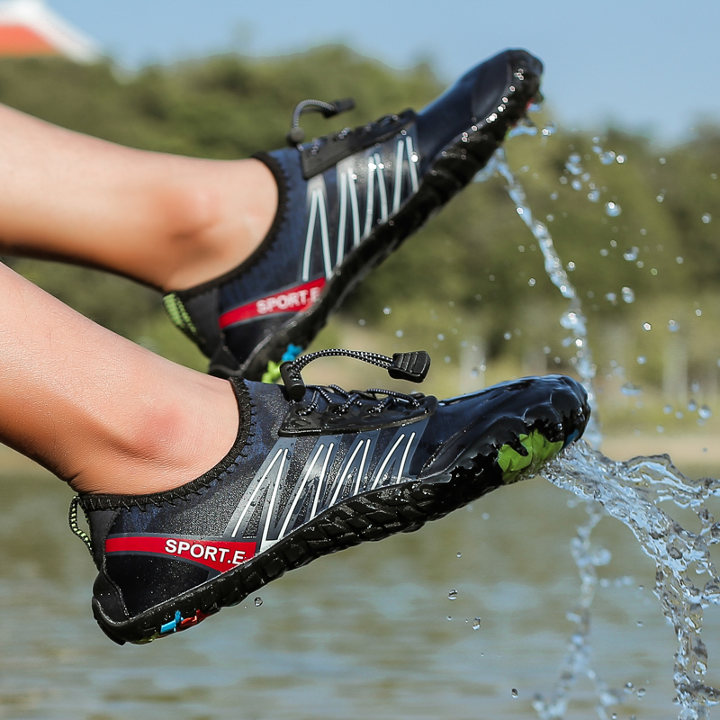 Swimming Shoes Aqua Beach Water Shoes Barefoot Athletic Footwear Gym Sneakers Slippers Lightweigt Summer Sandals Men Woman Shoes in Upstream Shoes from Sports Entertainment