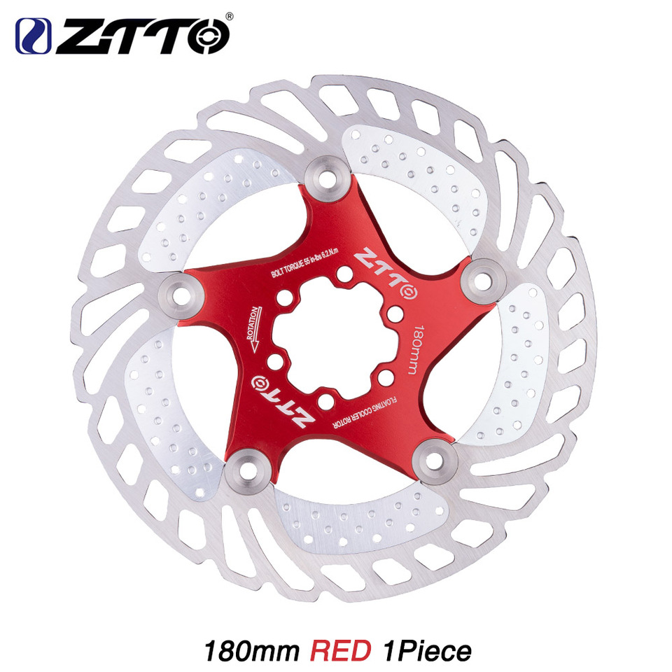 ZTTO 1PCS MTB Road Bike 203mm//180mm//160mm//140mm//120mm Stainless Steel Rotor Disc