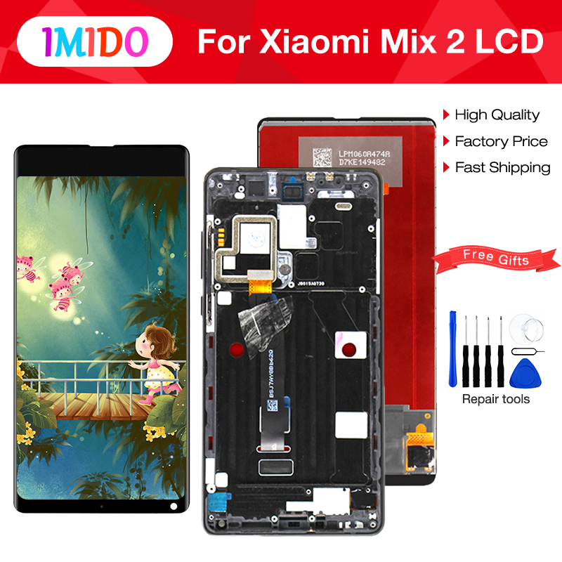 5.99IPS Display For XIAOMI Mix 2 Display Touch Screen Digitizer Replacement for XIAOMI MI MIX 2 MIX2 LCD Display Black White5.99IPS Display For XIAOMI Mix 2 Display Touch Screen Digitizer Replacement for XIAOMI MI MIX 2 MIX2 LCD Display Black White