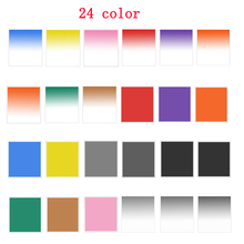 square Filters  full color filters / Graduated color filers for Cokin P