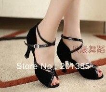 Ladies Black 3 inch Heel LATIN Shoes Ballroom Dancing Shoes Salsa Tango Shoes Chacha Shoes