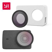 YI 4 К Действий Камеры Защитной Линзы и Кожаный чехол