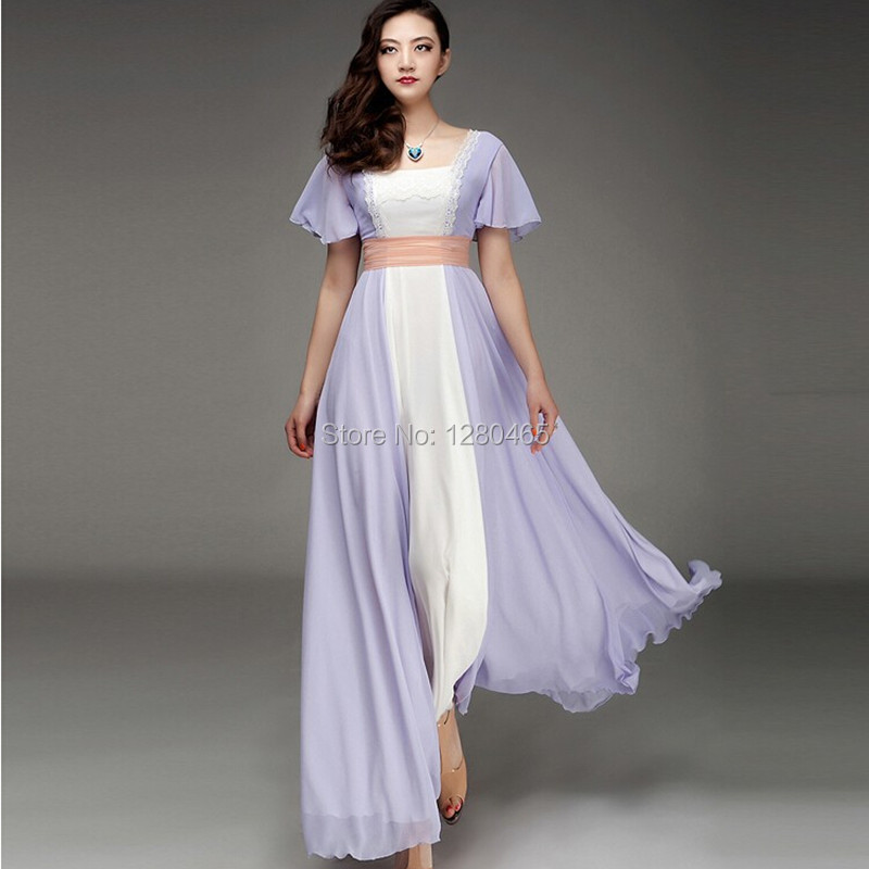 Vestidos Anic Rose Chiffon Celebrity Dress Evening Prom Gown Women High Real Image Quality Maxi In Dresses From Weddings Events