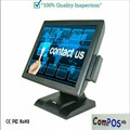Free shipping! 15 Inch All In One Touch Screen Pos System For Resturant Billing Pos Machine With MSR&VFD