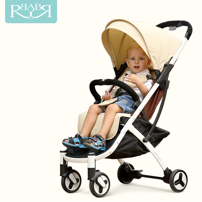 Babyruler Baby Stroller for dolls ultra-lightweight folding umbrella baby trolley for newborns infants can sit can lie