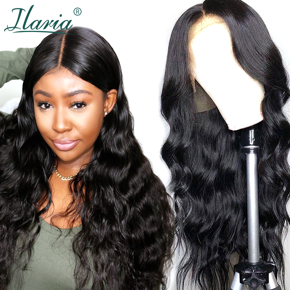 Ilaria Lace Front Human Hair Wigs For Black Women Body Wave Brazilian Remy Hair Wig With Baby Hair Pre Plucked Natural Hairline