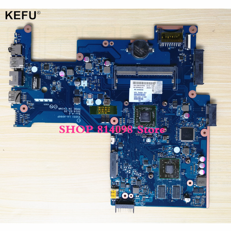 SUPER 100% 764269-501 ZSO51 LA-A996P MAINBOARD LAPTOP MOTHERBOARD FOR HP 15-G NOTEBOOK PC WITH VIDEO CARD 764269 501 main board fit for hp 15 g notebook pc motherboard system board 764269 001 zso51 la a996p a8 6410 discrete graphics