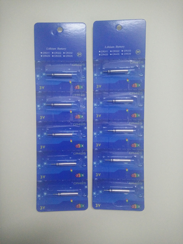 20 pcs 50 pcs cr425 partida bateria recarregavel usb carregador de usar terno para diferentes