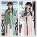 Девять Ночей Красивая женская Китайский Стиль Ruqun Старинные Gorgerous Dress Штраф Вышивка Hanfu Long Dress Fairy Kei 4 Шт. набор