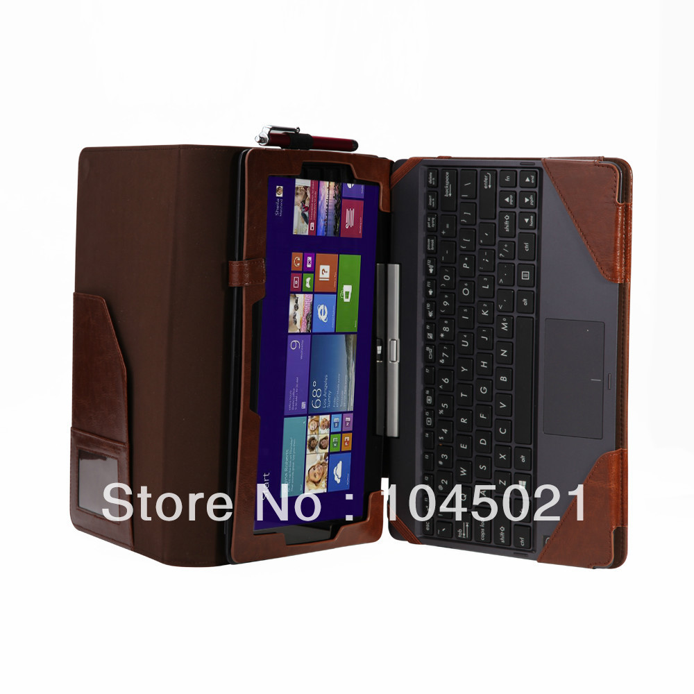 (Factory price) 2016 New tablet high quality leather case For Asus Transformer Book T100TA 10.1 inch with free shipping