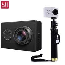 """Yi Action Kamera mit selfiestick international Version Ambarella A7LS 155 """"1080 P WiFi 3D Rauschunterdrückung Action Sports Kamera"""
