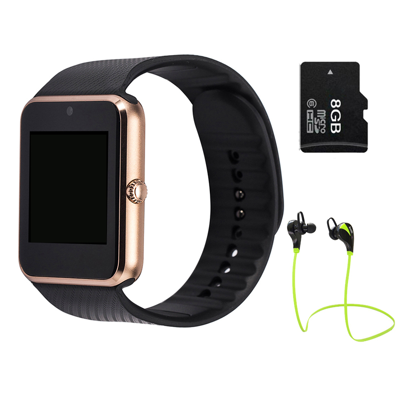 Smart Watch GT08 Clock for font b android b font Sync Notifier TF Sim Card Bluetooth